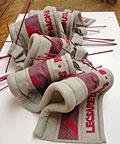 textile art by Jean Draper