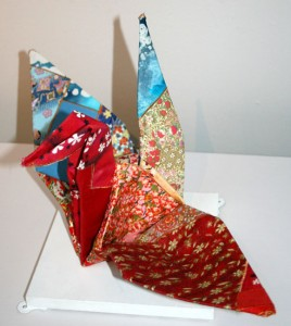 detail of A Fold in the Traditional by Marika Komori in Creative Dialogues
