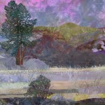 detail, Up at the Dam, Glengairn, Winter Passing, Alison King