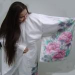 Marika Komori in her Kimono