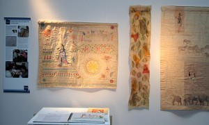 work by Dorothy Tucker, Surjeet Husain and Jenny Bullen in Creative Dialogues