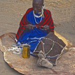 Maasai woman Nogikuto