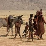 Namibia, Marienfluss Himba women